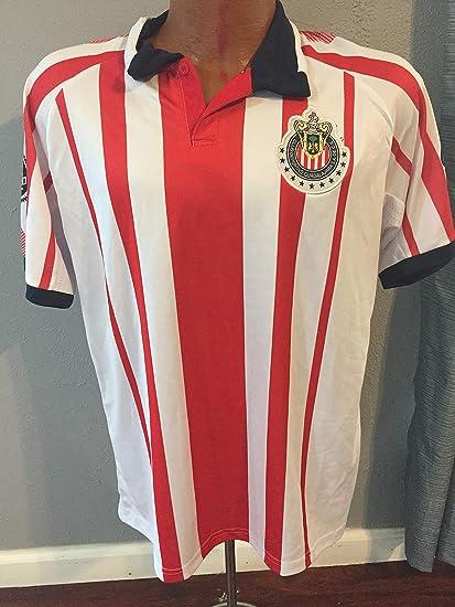 4c1692fcfa2 Amazon.com : New Club Deportivo Guadalajara Chivas Playera generica ...