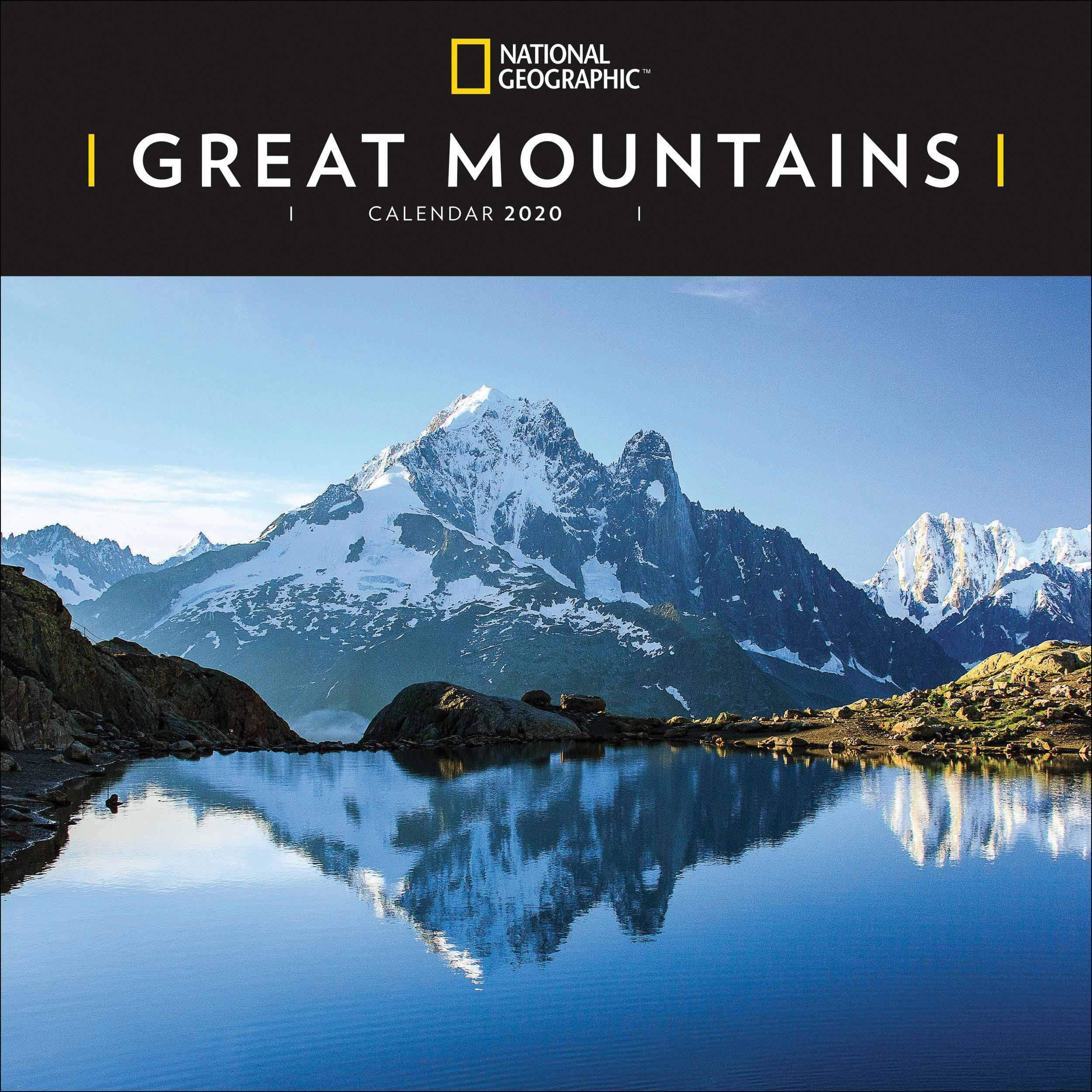 Great Mountains National Geographic Square Wall Calendar 202