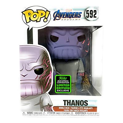 Funko Pop! Avengers Endgame - Thanos (ECCC) Exclusive #592: Toys & Games
