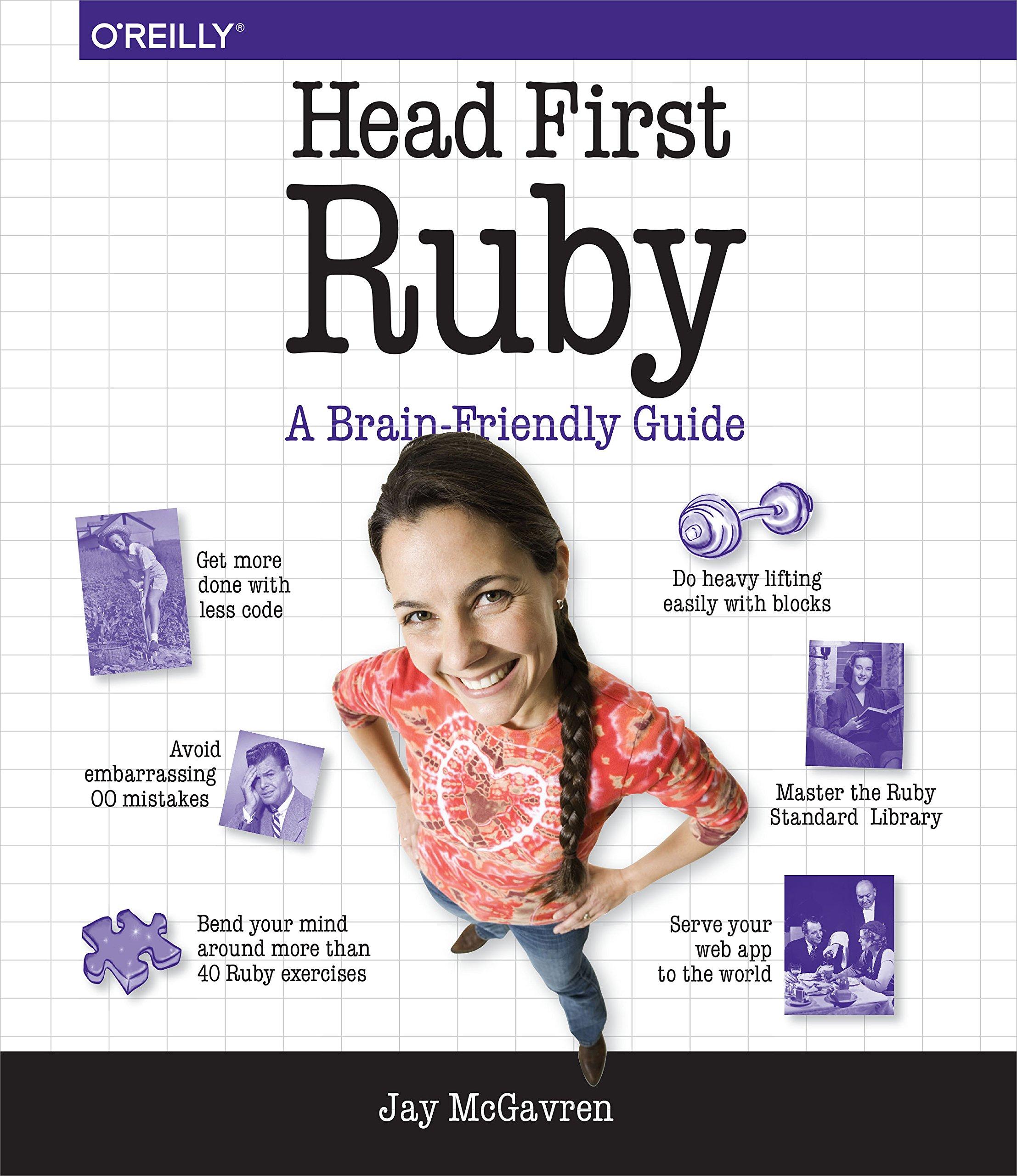 Head First Ruby ISBN-13 9781449372651