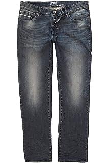 JP 1880 Herren große Größen bis 70, Jeans Hose mit Used