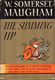 The Summing Up by W. Somerset Maugham 1938 Hardcover First Edition