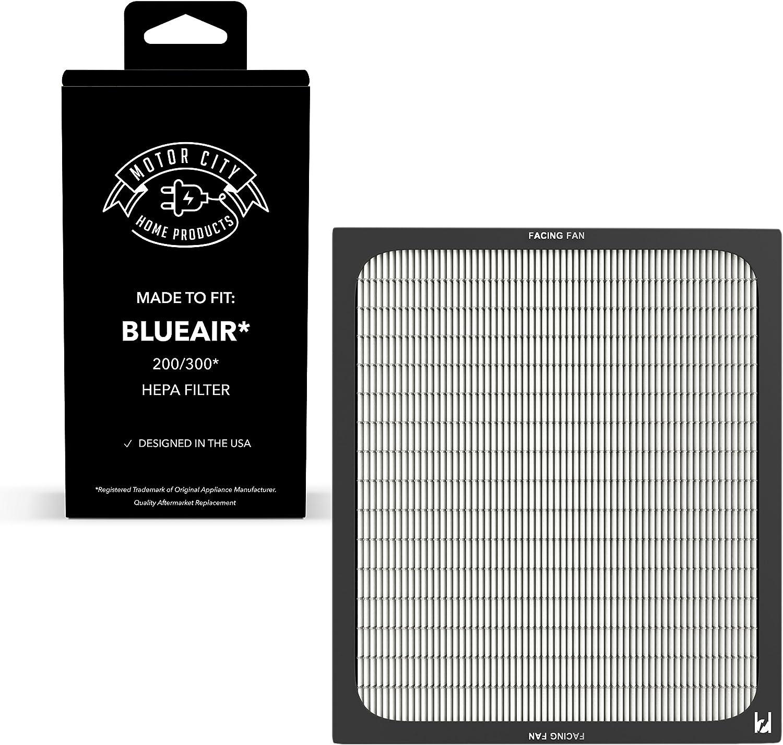 Blueair 200 300 Serie compatible Filtro Purificador de aire; Motor ...