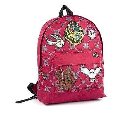 Harry Potter Hogwarts Patch Badges Backpack | Kids' Backpacks