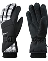 KINEED Waterproof Women Winter Ski Snowboard Snow Cycling Thermal Gloves Thinsulate Insulated