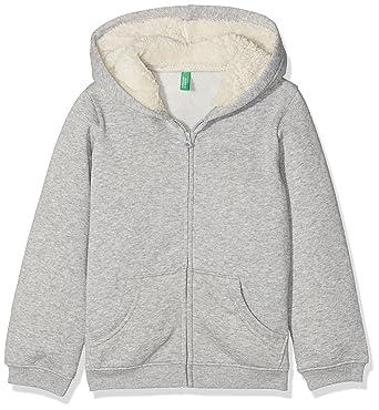 United Colors of Benetton Jacket W/Hood L/S Chaqueta para Niñas
