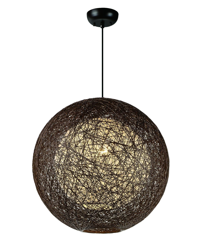 Maxim照明14405 CHWT bali-singleペンダント1-lightシャンデリア 14405CHWT 1 B01AY1ESQG  チョコレート