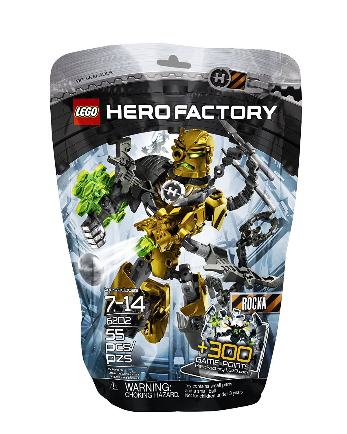 Lego Hero Factory Rocka Xl 2282 Top Christmas Toys Of 2017
