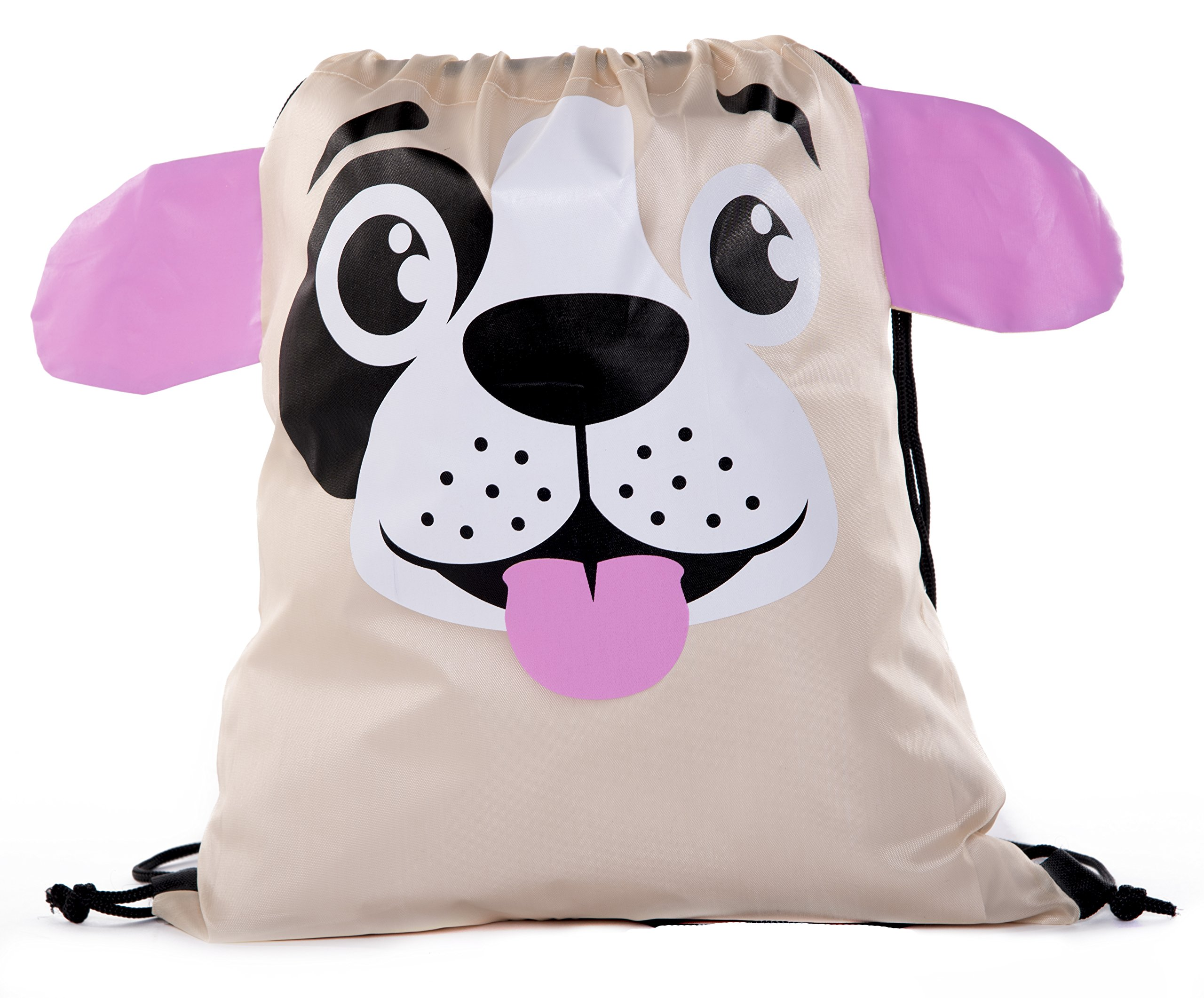 Party Favor Bags for Kids   Animal Drawstring Backpacks, Goodie Bags for Birthday Parties and More By Mato & Hash