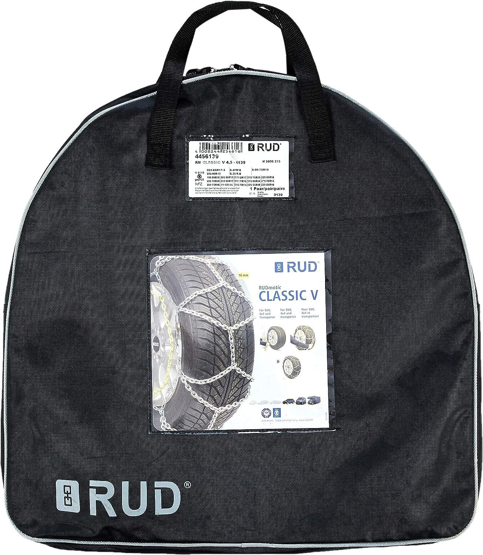 RUD 4715833 Snow Chains Classic V Rudmatic Bracket Mounting 0131 Set of 2