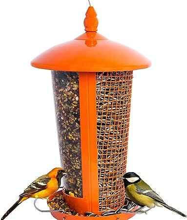 """2 x Superior 12/"""" Long Wild Bird Hanging Nut Feeder Peanut Garden Feeders Wire"""