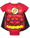 The Flash Infant Baby Boys' Costume Bodysuit with Cape