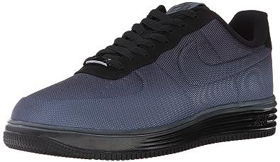 finest selection e0fcd 80b1b Nike Lunar Force 1 Vt Mesh Mens Sneakers Armory Slate Black Armory Slate  599499