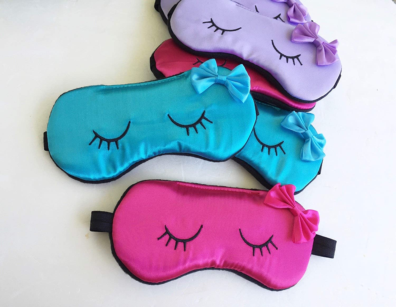 Vintage Rose Sleep Mask for Women Girls Slumber Party Mask Travel Sleep Mask Bachelorette Party Mask.
