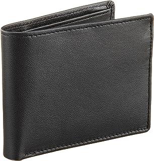 c68753fa5e8c Perry Ellis Men's Portfolio Card Holder with A Sliver Tone Logo at ...