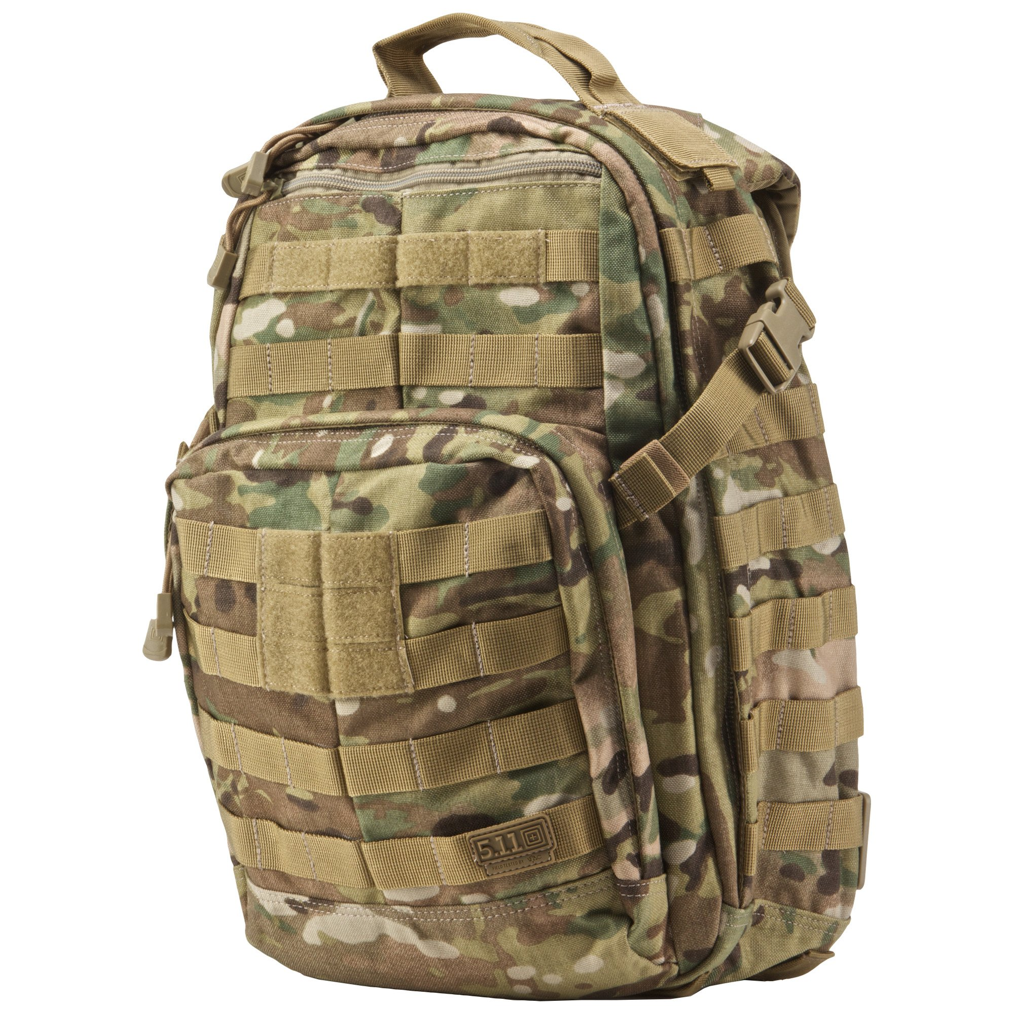 5.11 RUSH12 Tactical Military Assault Molle Backpack, Bug Out Rucksack Bag, Small, Style 56892, Multicam by 5.11 (Image #3)