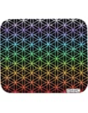 TooLoud Chakra Colors Flower of Life Mousepad All Over Print