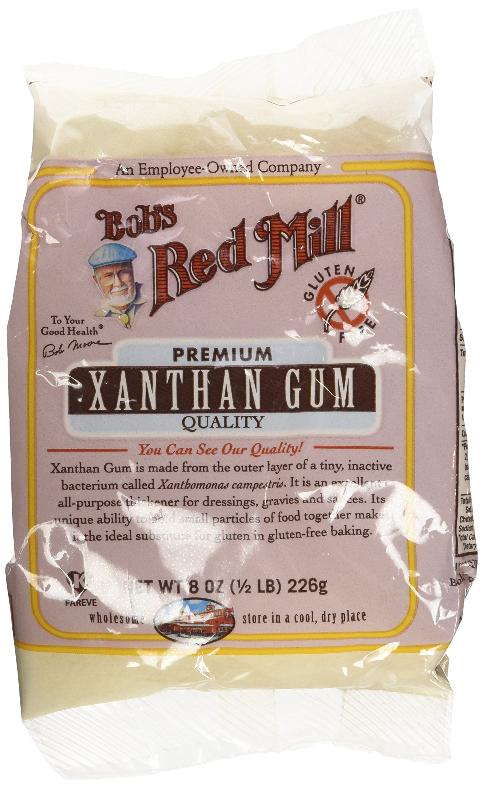 Bobs Red Mill Xanthan Gum, Gluten Free 8 Ounce (Pack of 3)