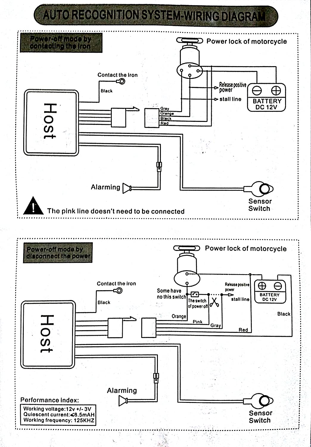 Scooter Alarm Wiring Diagram Schematic Diagrams Mobil Autofy Anti Theft Block And U2022