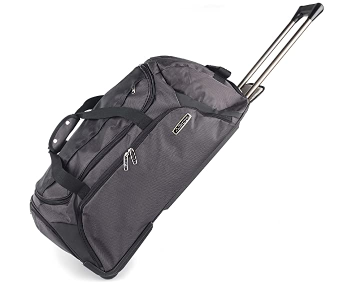 558f629455 Kappa 1904503 Wheeled Travel Bag Holdall