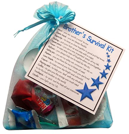 smile gifts uk brothers survival kit gift great novelty gift for birthday or christmas