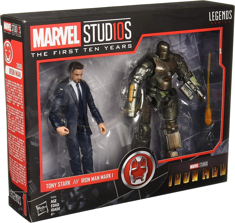 TONY STARK /& IRON MAN MARK I Marvel Studios Legends First Ten Years AVENGERS New
