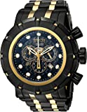 Invicta Men's 'Reserve' Quartz Stainless Steel Casual Watch, Color:Two Tone (Model: 16950)