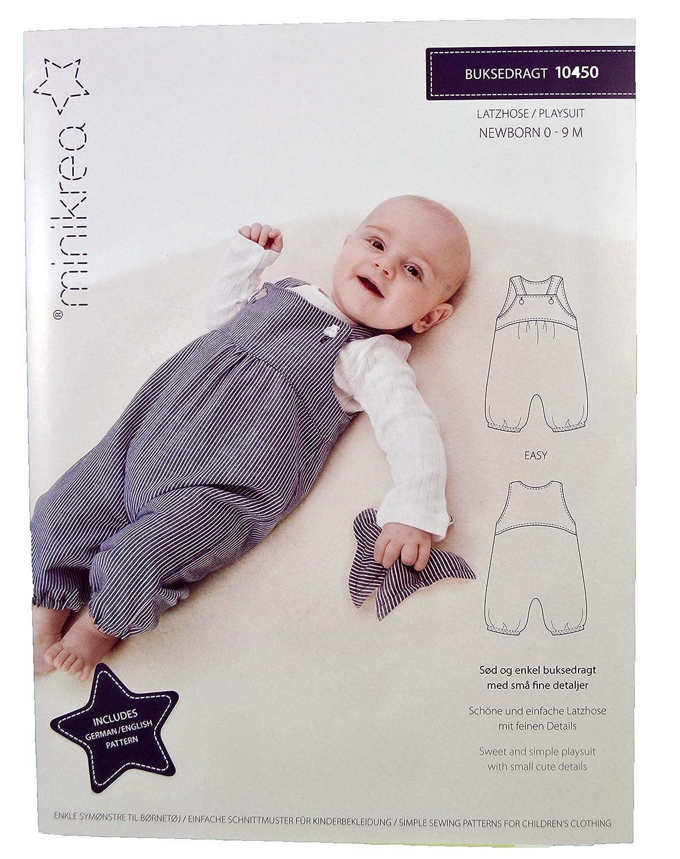 a23a413083 MAGAM-Stoffe Latzhose Schnittmuster Neugeborene und Babys inkl. Aufnäher  Enno: Amazon.de: Baumarkt