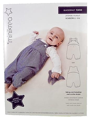 MAGAM-Stoffe \'\'Latzhose\'\' Schnittmuster für Neugeborene und Babys ...