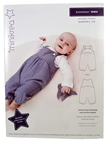 Schnittmuster Latzhose für Neugeborene & Babys/Gr. 50-74cm/1x0450 ...