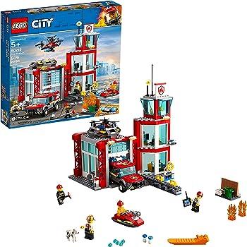LEGO 509-Pieces City Fire Station Building Kit