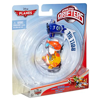 Disney Planes Micro Drifters Dusty Crophopper, Sun Wing and Arturo Vehicle 3-Pack: Toys & Games