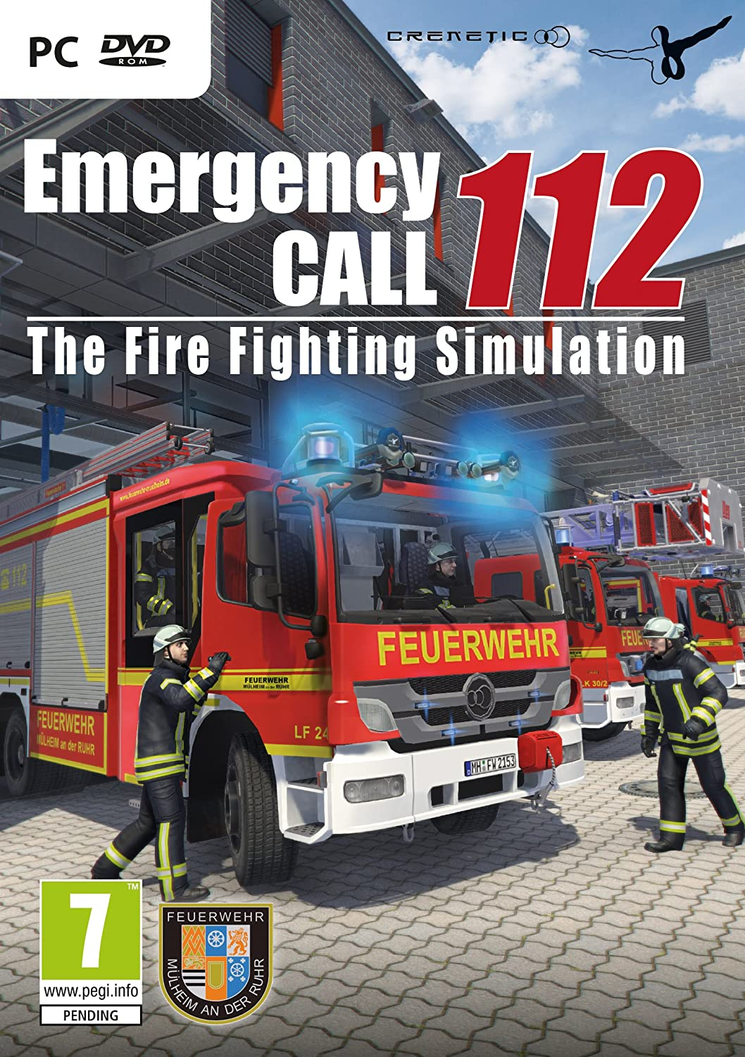 Emergency Call 112 - The Fire Fighting Simulation (PC DVD