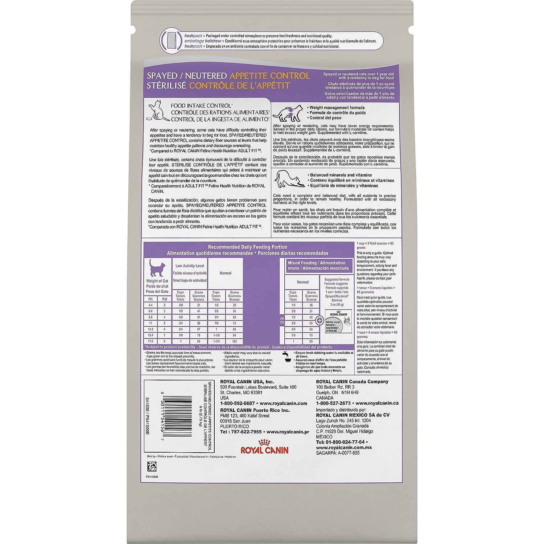 Amazon.com : Royal Canin FELINE HEALTH NUTRITION Spayed/Neutered ...