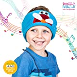 Snuggly Rascals Kids Headphones Over Ear Headband Earphones; Quiet, Volume Limited and Durable. Great for Travel, Use With iPad, iPhone, Samsung Tablet Computer. Suitable for Children (Plane)