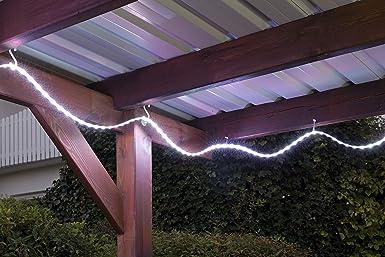 Briloner Leuchten - Tira de luces led para exteriores (incluye ...