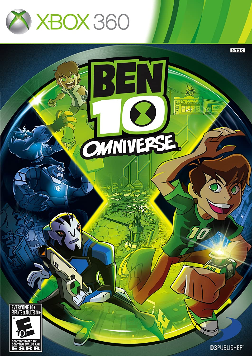 Amazon Com Ben 10 Omniverse Xbox 360 Video Games