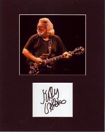Kirkland Signature Jerry Garcia Grateful Dead 8 X 10 Photo Autograph on Glossy Photo Paper