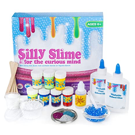 Amazon complete diy slime kit with supplies for over 10 recipes complete diy slime kit with supplies for over 10 recipes make homemade slime how ccuart Gallery