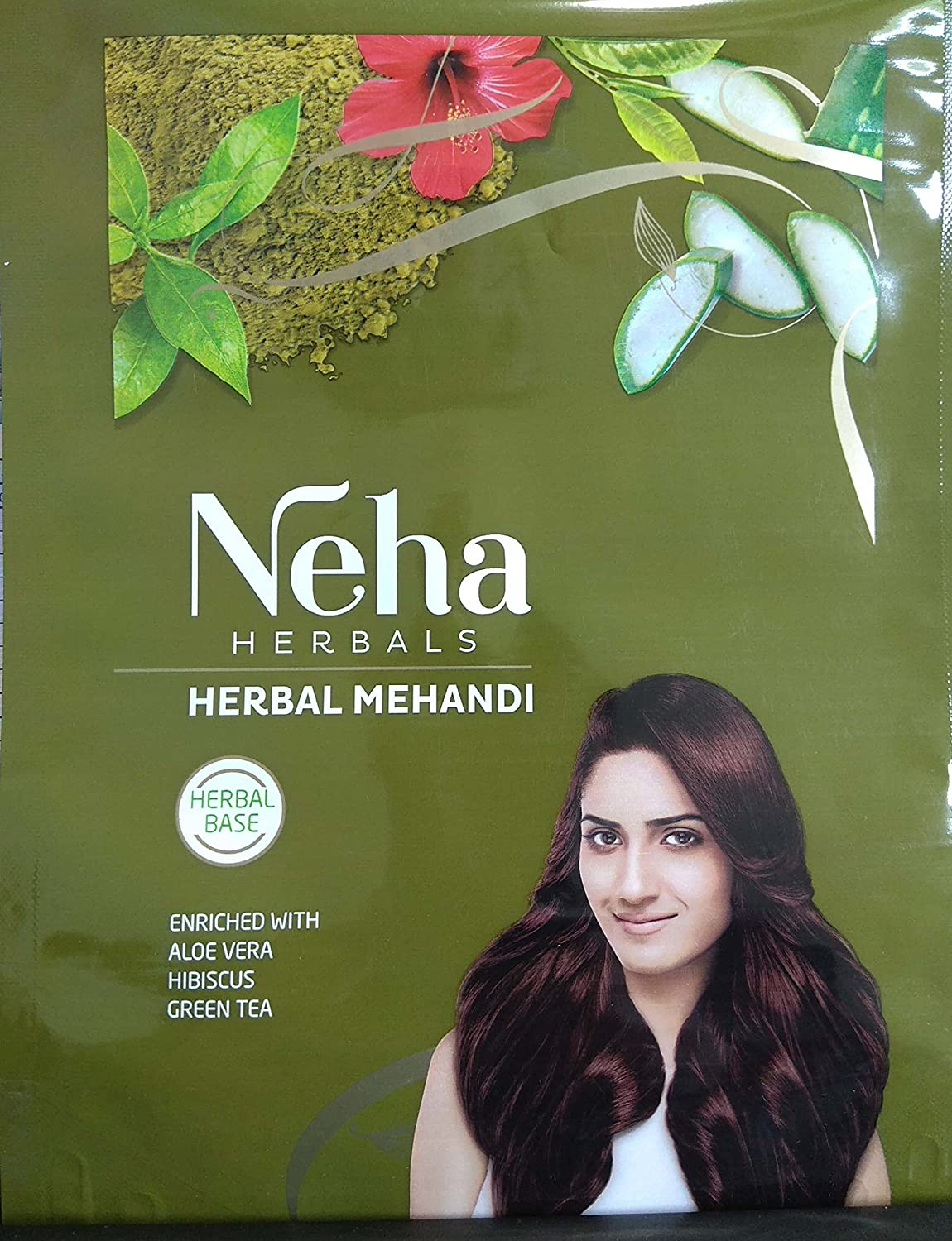 2 Pack Neha Henna Mehandi Powder 13 Herbs Blend Herbal