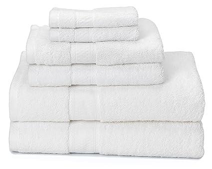 700 gsm – juego de 6 toallas de baño (2 toallas de baño 30 &quot