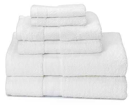 """700 gsm – juego de 6 toallas de baño (2 toallas de baño 30 """""""