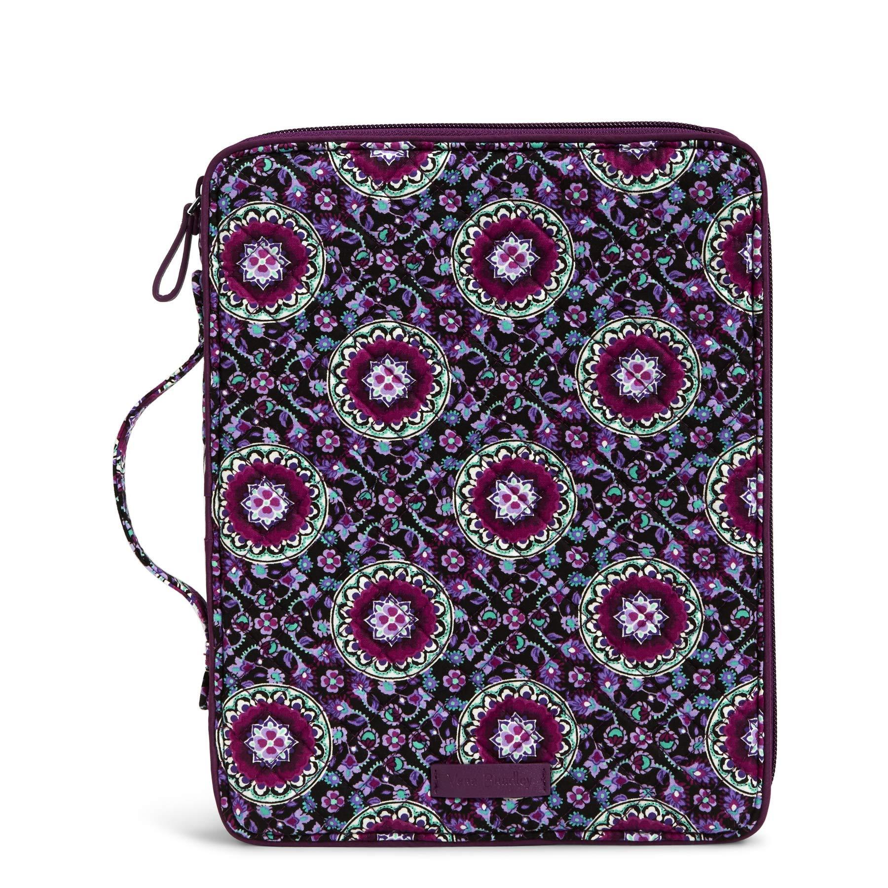 Vera Bradley Iconic Tablet Tamer Organizer - Signature Messenger Bag Bag