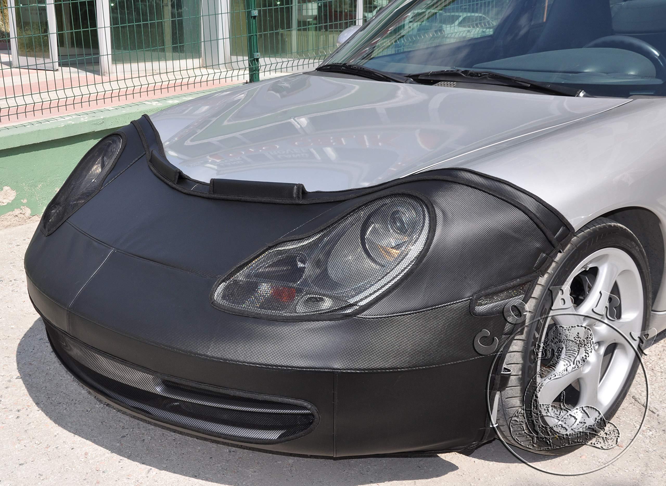 Cobra Auto Accessories Full Bra MASK in Carbon Style Fits Porsche 996 Carrera 98 99 2000 01 02 03 04
