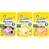 Gerber Graduates Yogurt Melts Snack Variety Pack, 1 Ounce (Pack of 7)