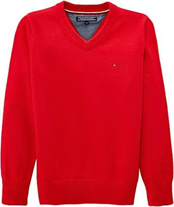 Tommy Hilfiger Boys Tommy Vn Sweater L//S Jumper