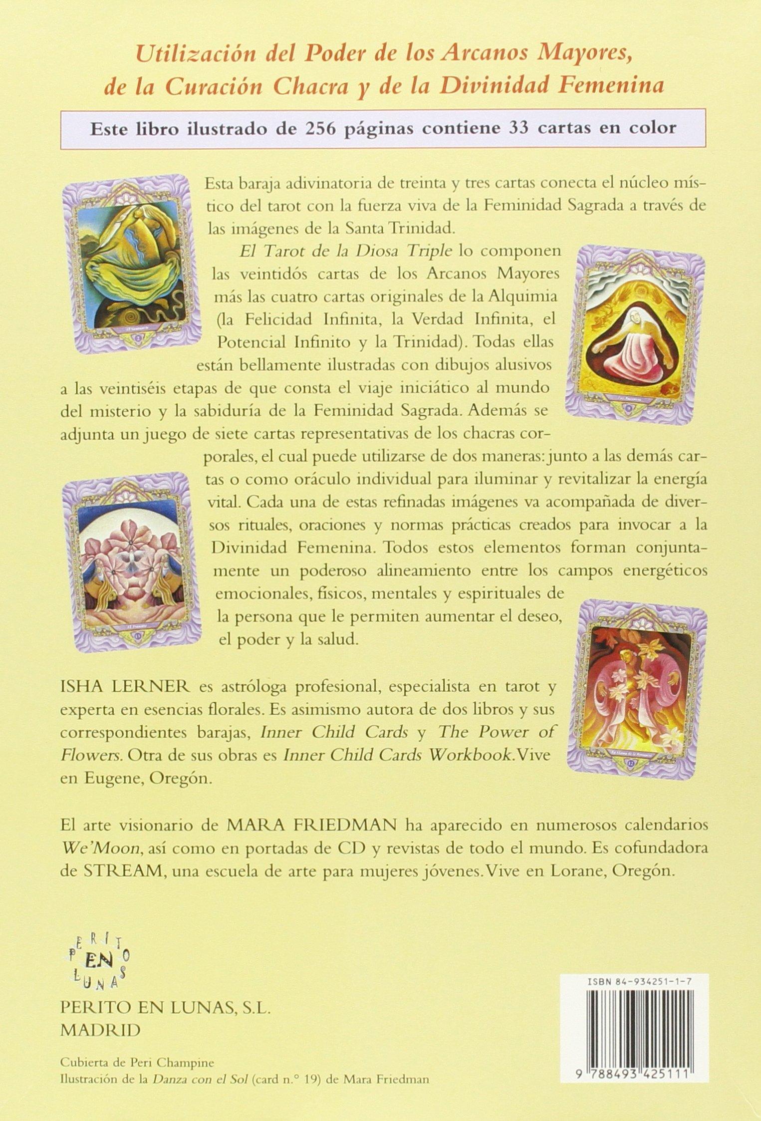 El tarot de la diosa triple: Amazon.es: Isha Lerner, Javier ...