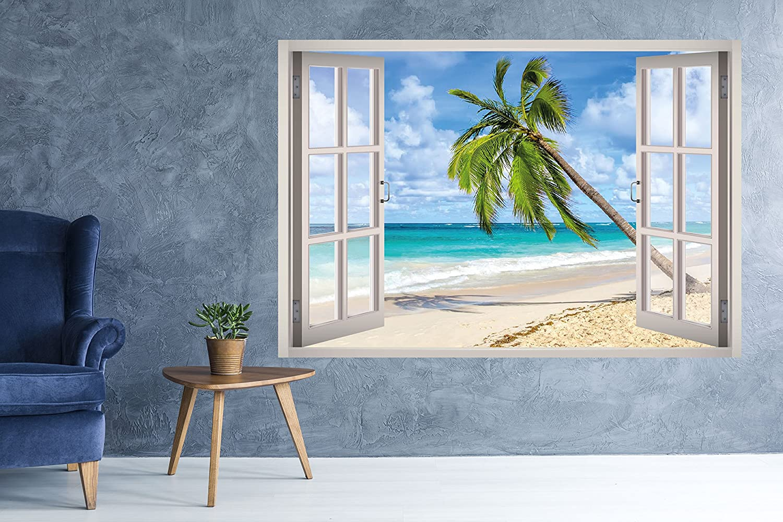 Details about  /3D Seaside Scenery 3966 Wallpaper Decal Dercor Home Kids Nursery Mural Home