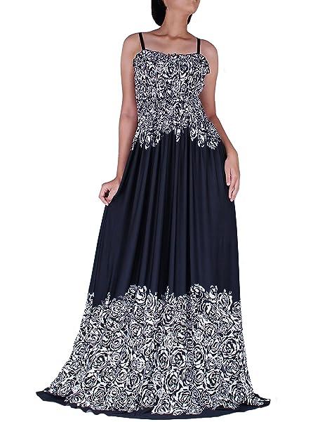 The Womenland Women Maxi Party Dress Wide Hemline Flattering Plus