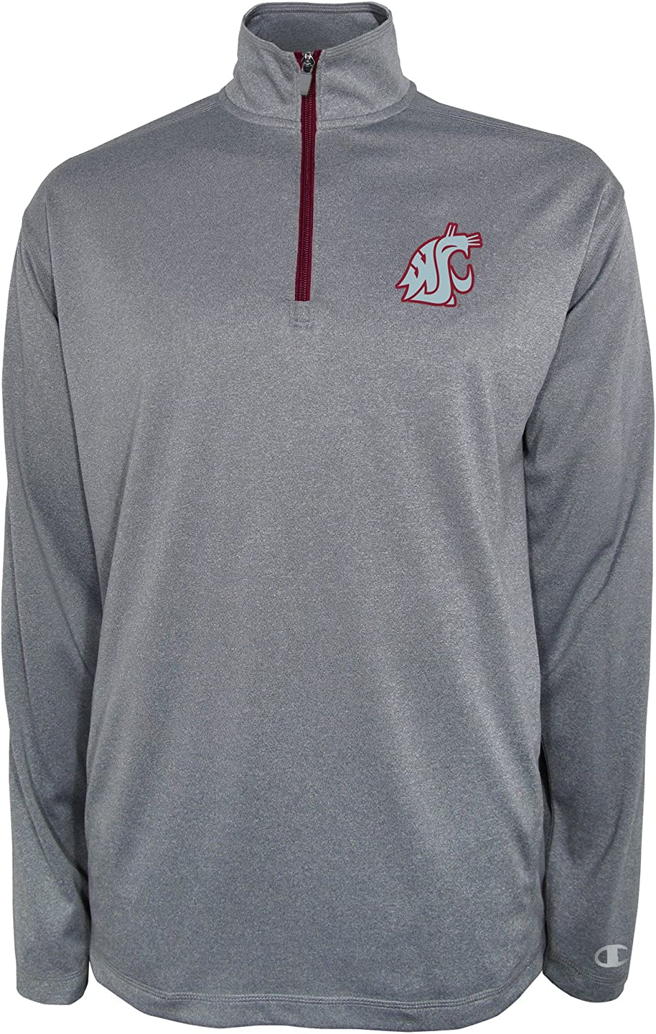 Officially Licensed Unisex NCAA Team Sweatshirt Champion Adult Fleece Quarter Zip